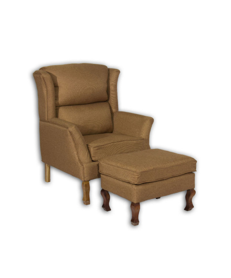 Wing-Chair-Brocade